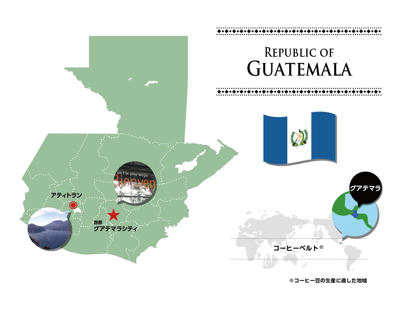 グアテマラ GUATEMALA   ミカド珈琲商会